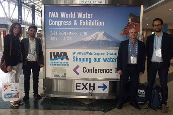 SMART-Plant activities at the IWA – World Water Congress 2018, 16-21, Tokyo, Japan