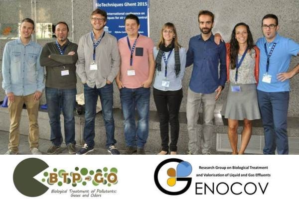 Conference – Some BTP-GO members (four of GENOCOV) participated in 6th international conference of BioTechniques Ghent 2015