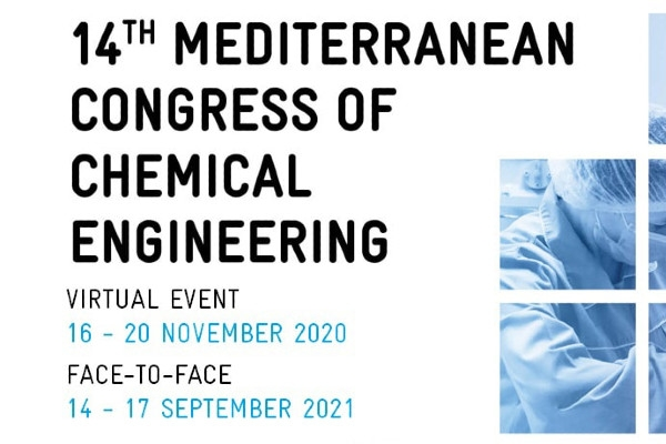 "GENOCOV in the Conference ""14th Mediterranean Congress of Chemical Engineering 2020"""