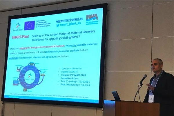 GENOCOV activities at the IWA – World Water Congress 2018, 16-21, Tokyo, Japan